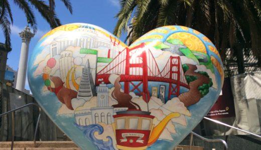 サンフランシスコのユニオンスクは街の中心部