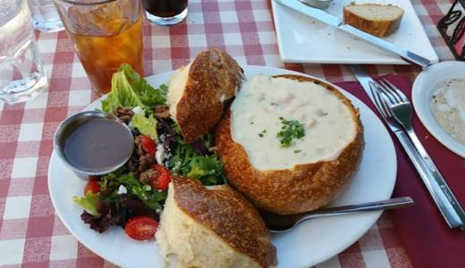 フィッシャーマンズワーフで美味しいシーフード料理 [Cioppino's]