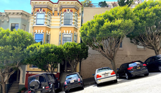 坂の街サンフランシスコ〜坂の上からの景色は最高!