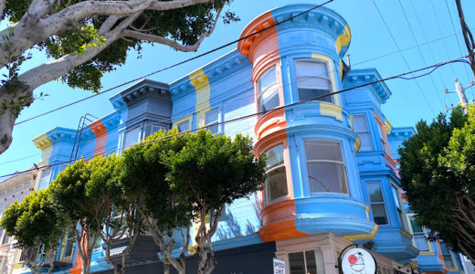 サンフランシスコには可愛いお家がいっぱい♪
