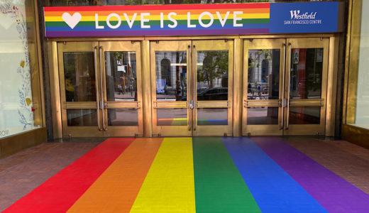 LGBTQレインボーカラーが華やかなサンフランシスコ