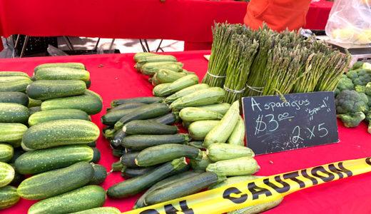 サンフランシスコのファーマーズマーケット〜野菜・果物市