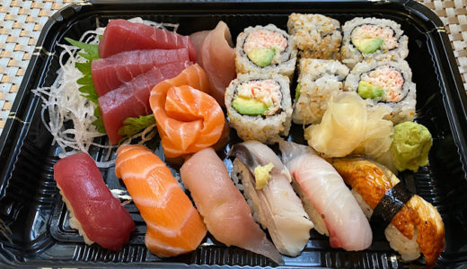 【アメリカ生活】SANRAKU でお寿司とお刺身♪