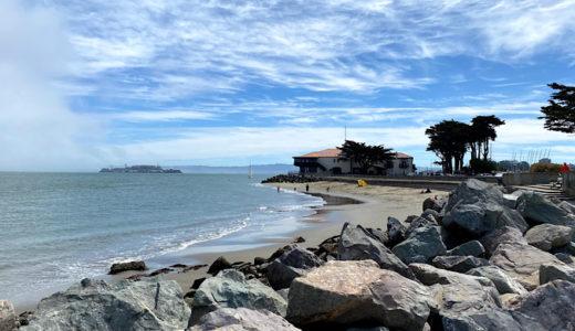 サンフランシスコ湾を見ながら散歩〜クリッシーフィールド