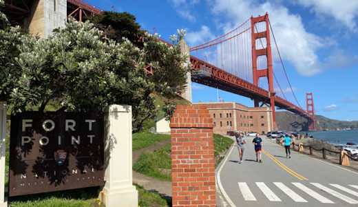 【サンフランシスコ】ゴールデンゲートブリッジの上と下を体験してきた!